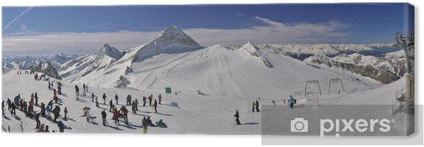 Obraz na płótnie Ośrodek narciarski w Zillertal - Europa