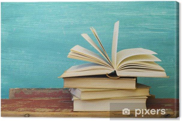 Obraz na płótnie Otwarta książka - Edukacja