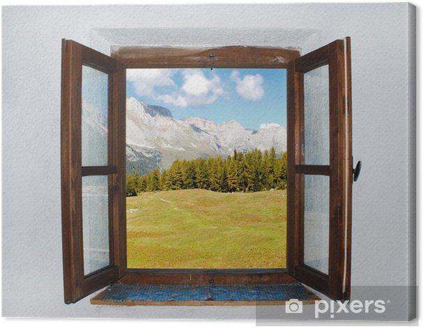 Obraz na płótnie Otwarte okno - Tematy