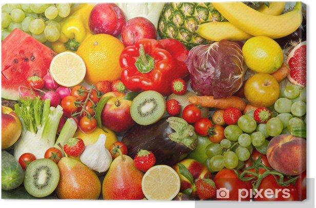 Obraz na płótnie Owoce i warzywa -