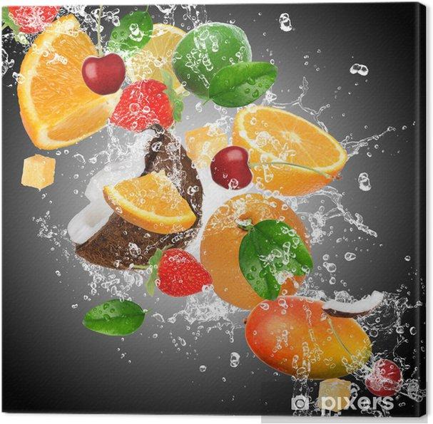 Obraz na płótnie Owoce z zalewaniem - Do kuchni