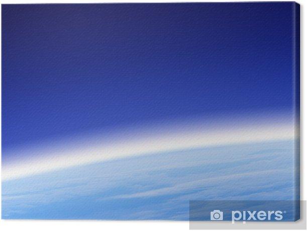 Obraz na płótnie Ozon - Przestrzeń kosmiczna