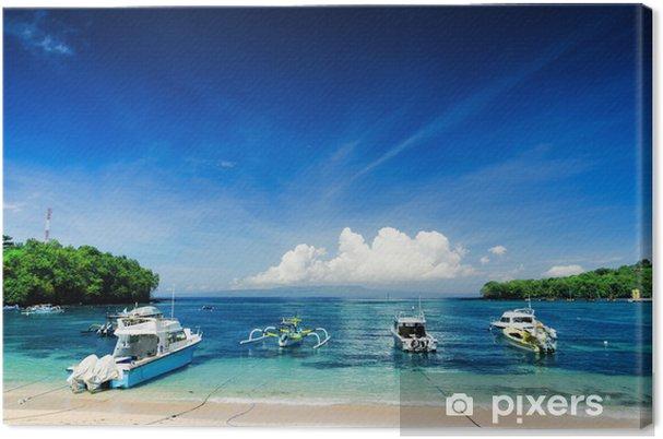 Obraz na płótnie Padangbai - Azja