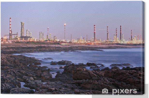 Obraz na płótnie Paisagem przemysłowe - Budynki przemysłowe i handlowe