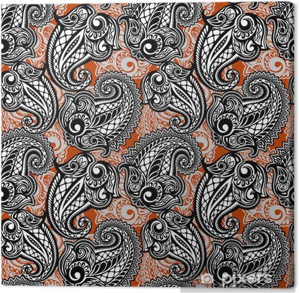 Obraz na płótnie Paisley powtarzalny koronki - Style