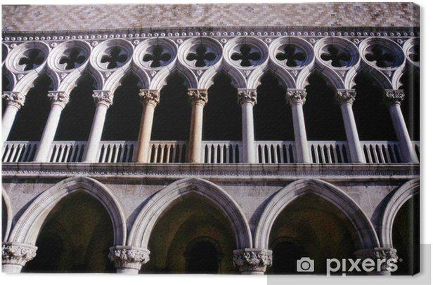 Obraz na płótnie Pałac Dożów, Wenecja, Włochy - Zabytki