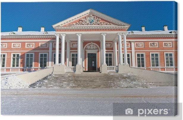 Obraz na płótnie Pałac i Kuskovo. - Miasta azjatyckie