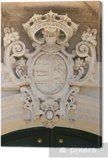 Obraz na płótnie Pałac Scarpa. Martano. Apulia. Włochy. - Wakacje