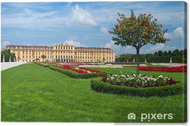 Obraz na płótnie Pałac Schonbrunn w Wiedniu, Austria - Miasta europejskie