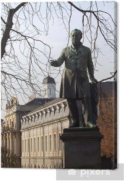 Obraz na płótnie Pałac wyborczy w Bonn - Wakacje