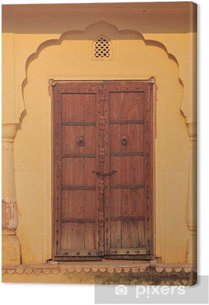Obraz na płótnie Palasttür w Indien - Azja