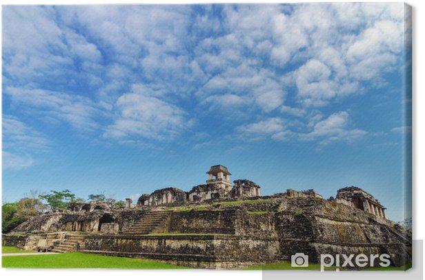 Obraz na płótnie Palenque Palace View - Ameryka