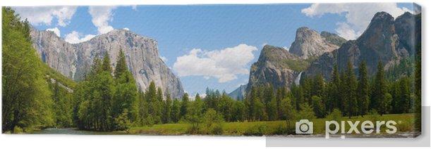 Obraz na płótnie Panaromic widok Yosemite Valley - Tematy