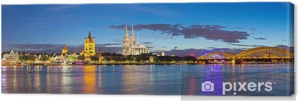 Obraz na płótnie Panorama miasta Kolonia, Niemcy - Niemcy