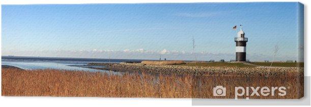 Obraz na płótnie Panorama mit Leuchtturm - Europa