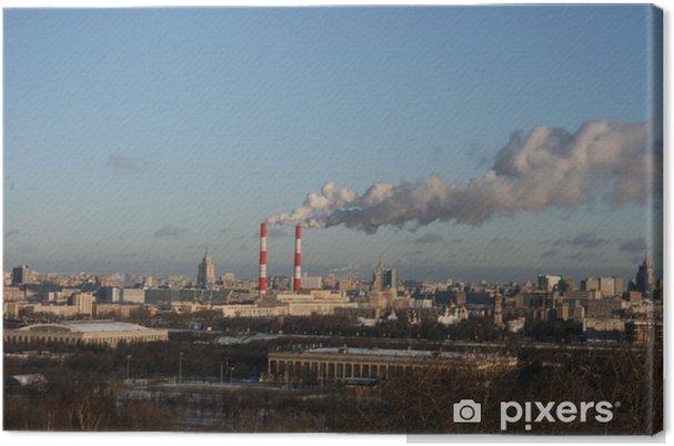 Obraz na płótnie Panorama Moskwy - Europa