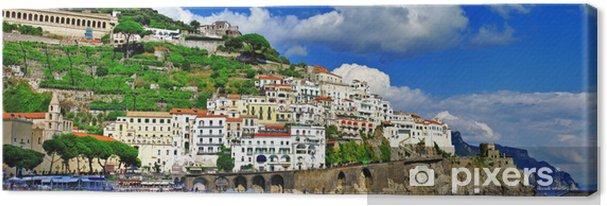 Obraz na płótnie Panorama pięknego Amalfi, Włochy - Europa