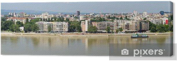 Obraz na płótnie Panoramiczny miasta Novi Sad, Serbia - Inne
