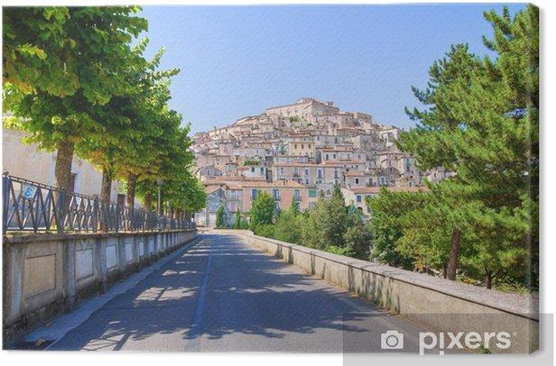 Obraz na płótnie Panoramiczny widok z Morano Calabro. Kalabria. Włochy. - Wakacje