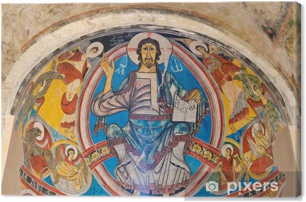 Obraz na płótnie Pantokrator w Sant Climent z Taull, Katalonia Hiszpania - Europa