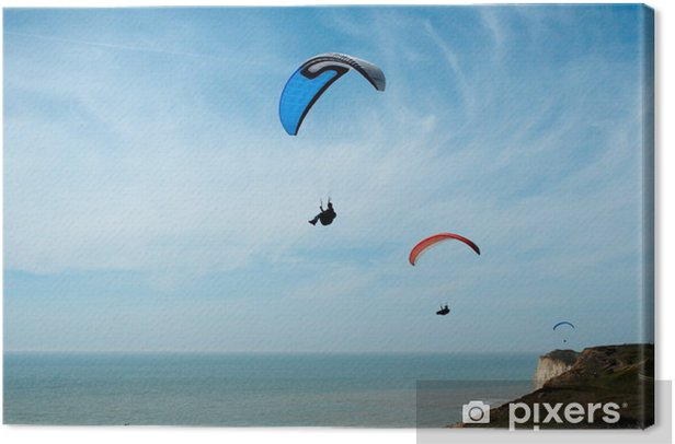 Obraz na płótnie Paralotniarstwo # 12 - Rozrywka