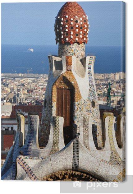 Obraz na płótnie Parc Guell Barcelone - Miasta europejskie