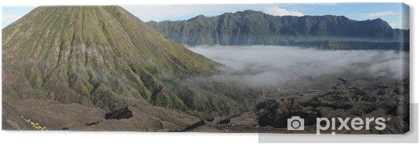Obraz na płótnie Parco Nazionale di Bromo-Tengger-Semeru sull'isola di Java - Azja