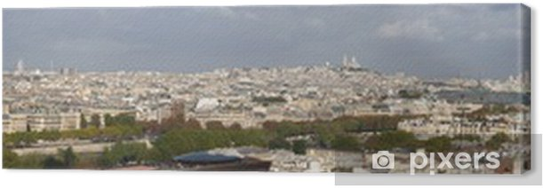 Obraz na płótnie Paris panorama - Miasta europejskie