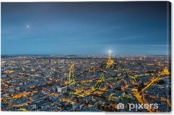 Obraz na płótnie Paris panorama - Tematy