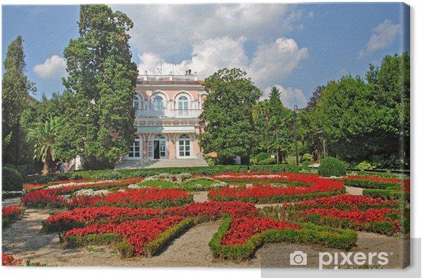 Obraz na płótnie Park der Seepromenade w Opatija - Europa