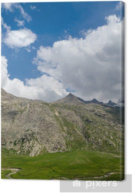 Obraz na płótnie Park Narodowy Gran Paradiso, Nivolet, Włochy - Góry