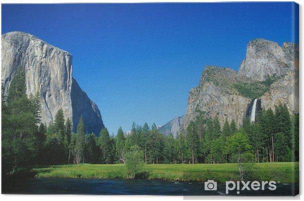 Obraz na płótnie Park Narodowy Yosemite - Góry