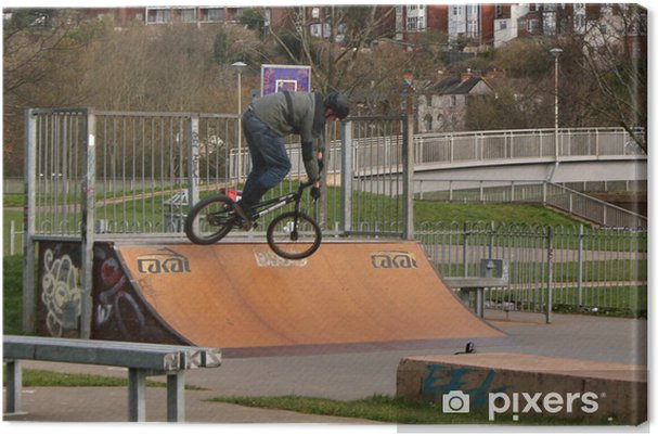Obraz na płótnie Park rowerowy - Sporty indywidualne