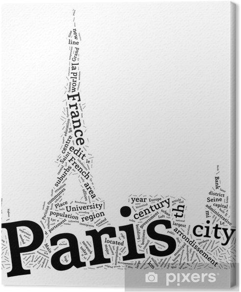 Obraz na płótnie Paryż (Francja) - Abstract Wallpaper Projektowanie - Miasta europejskie