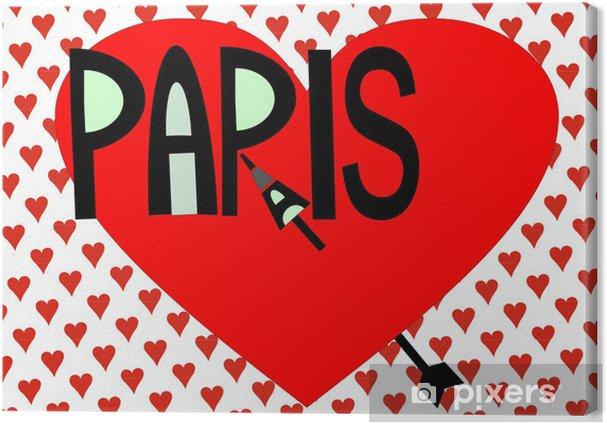 Obraz na płótnie Paryż - Europa