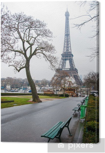 Obraz na płótnie Paryż - Miasta europejskie