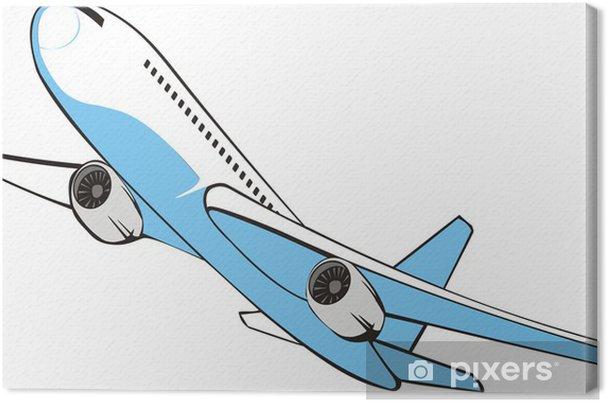 Obraz na płótnie Passrnger strumień powietrza - Transport powietrzny