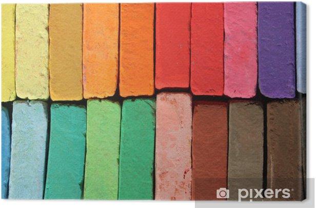 Obraz na płótnie Pastele kolory - Sztuka i twórczość