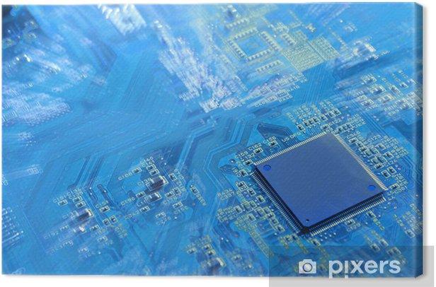 Obraz na płótnie PC - Hardware - Internet i sieci