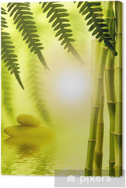 Obraz na płótnie Pędów bambusa z paproci - Tematy