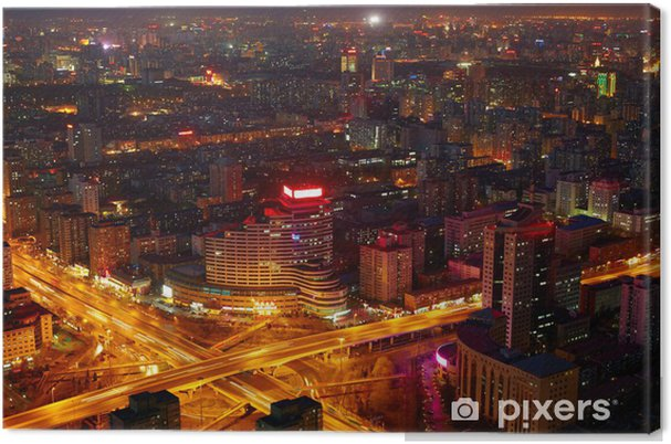Obraz na płótnie Pekin cityscape - Miasta azjatyckie