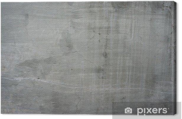 Obraz na płótnie Pęknięty stary szary mur beton cementowy rocznika brudne - Tematy
