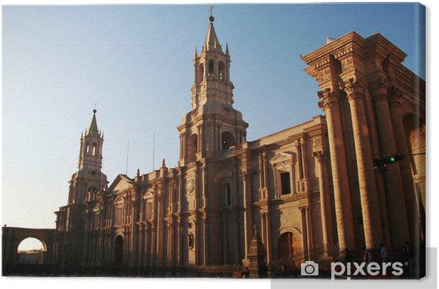 Obraz na płótnie Peruwiański miasta Arequipa - Ameryka