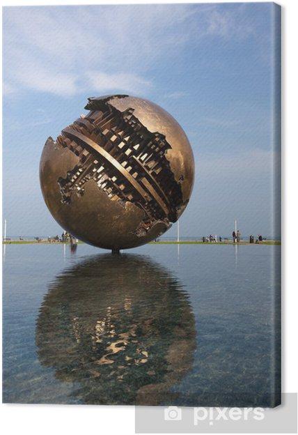 Obraz na płótnie Pesaro, promenady i Wielki Bal A. Pomidor - Wakacje