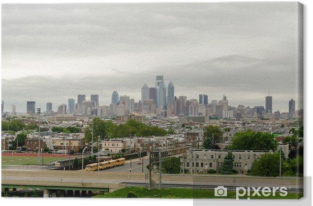 Obraz na płótnie Philadelphia skyline - Ameryka