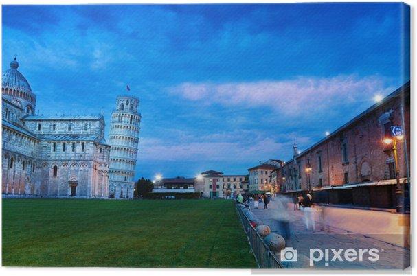 Obraz na płótnie Piazza del Duomo Pisa - Europa