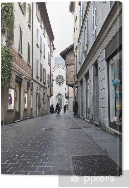 Obraz na płótnie PIAZZA SAN FEDELE _ COMO - Europa