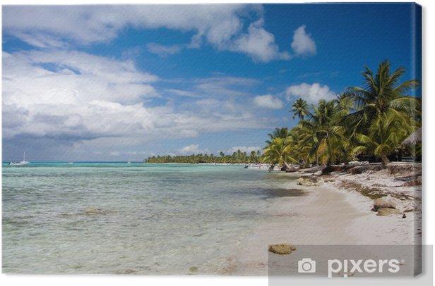 Obraz na płótnie Piękna plaża - Wakacje