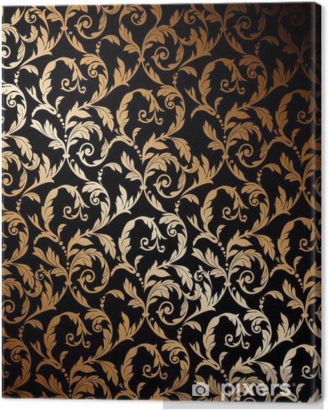 Obraz na płótnie Piękna złota tapety - Style