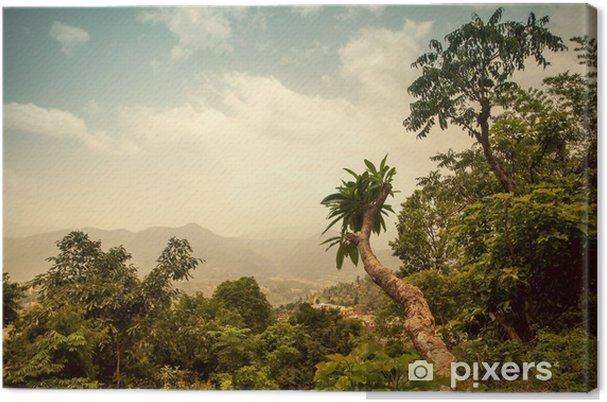 Obraz na płótnie Piękne azjatyckie krajobrazu - Pory roku